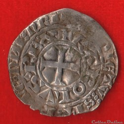 Charles IV - Maille blanche - 1324 -