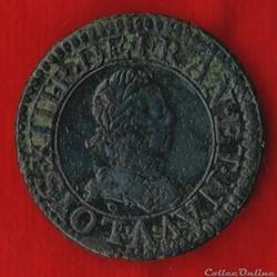 Louis XIII - Double Tournois - 1617 - Pa...