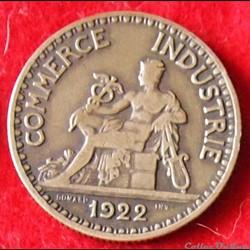 Chambres de Commerce - 2 Francs - 1922