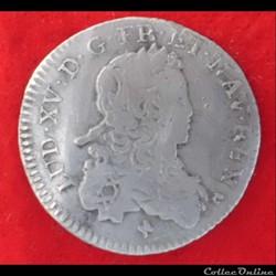 Louis XV - 1/6ème d'écu de France - 1721...