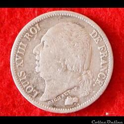 Louis XVIII - 1/2 Franc - 1823 - Paris