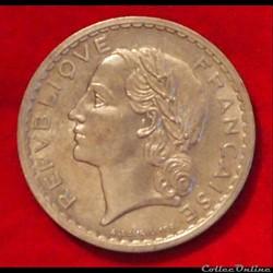 Lavrillier - 5 Francs - 1949