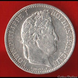 Louis Philippe Ier - 50 Centimes - 1847 ...
