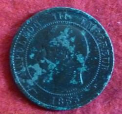 Napoléon III - 10 Centimes - 1853 - Pari...