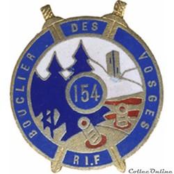 154° Régiment d'Infanterie de Forteresse