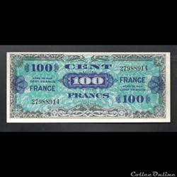 100  francs   US   1944