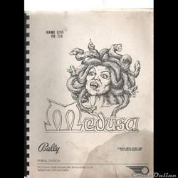manuel flipper BALLY MEDUSA 1981