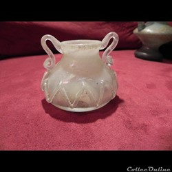 verre et pate de verre antique.