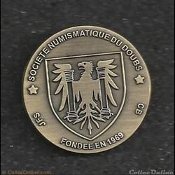 jeton de présence.la société numismatiqu...
