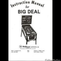 manuel flipper BIG DEAL WILLIAMS 1977