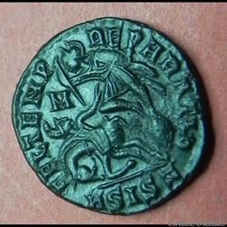 Constantius   FEL TEMP RE-PARATIO  SISCIA