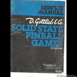 manuel service flipper gottlieb 1978 edi...