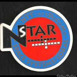 AUTOCOLLANT     satellite TNT N STAR