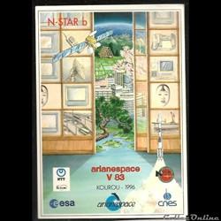 ARIANESPACE 1996  KOUROU  VOL N° 83 sate...