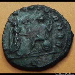 monnaie antique romaine aurelien romae ae ter milan