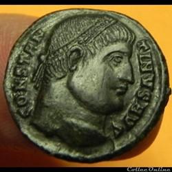 CONSTANTINUS I PROVIDEN-TIAE CAESS Nicom...