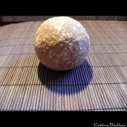 poids sphérique en pierre calcaire
