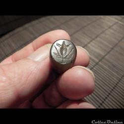 sceau  hémisphérique de RHODES , cachet ...
