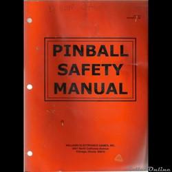 2 manuels flipper pinball Williams FASTB...