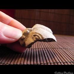 fragment de visage ,   EQUATEUR TUMACO