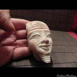 tête  calcaire Égypte