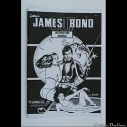 manuel instruction flipper JAMES BOND go...