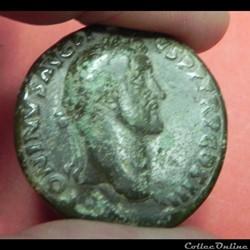 sesterce  Antonin le Pieux   romaine