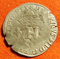 HENRI III Double sol parisis 1578   Pari...