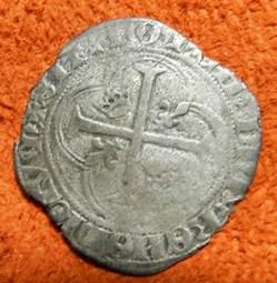 Charles  VIII douzain aux  couronnelles