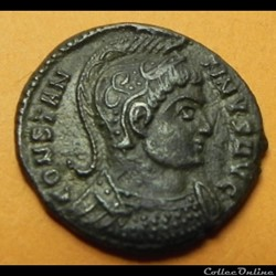 Constantin I  BEATA TRAN-QVILLITAS  CONSTANTINUS  STR  Trèves