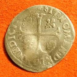 HENRI IV  Douzain aux deux H,