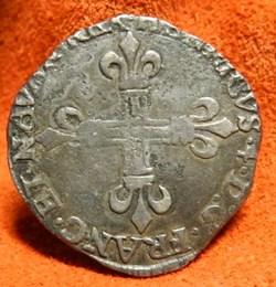 HENRI IV LE GRAND 1/4 d'écu de Béarn   1...