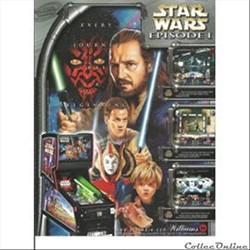 flyer flipper Williams Star Wars épisode 1