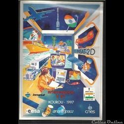 ARIANE 1997  KOUROU    VOL N°97  satelli...