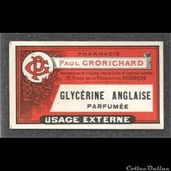 ancienne étiquette de Produit pharmacieu...