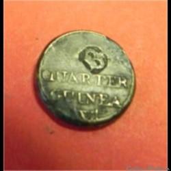 Poids monétaire ????  quarter  guinea wt...