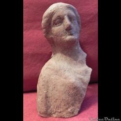 statue terre cuite gréco-romain