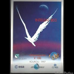 ARIANESPACE  KOUROU  VOL N° 100 satellit...