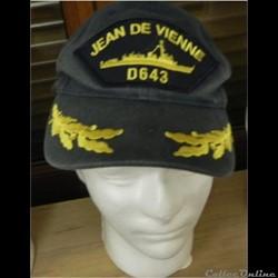 casquette de la frégate Jean de Vienne