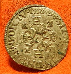 Henri II douzain aux croissants 1550    ...