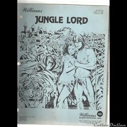 manuel pinball flipper JUNGLE LORD Willi...