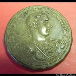 Gordien III  faux médaillon ou double sesterce