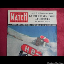 Paris Match 1951 Corée  photo  Jésus  en...