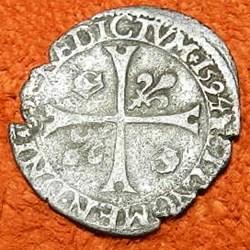 HENRI IV  Douzain aux deux H, 1594