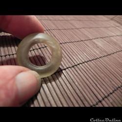 bague ou anneau de verre gallo-romain