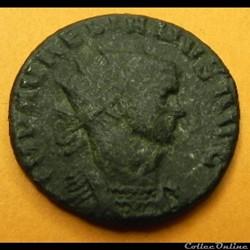 monnaie antique romaine aurelien iovi conser s
