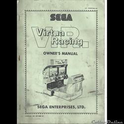 manuel Virtua Racing SEGA