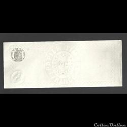 papier timbre  France 1892  lettre  de c...