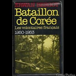 Bataillon ( Français) de Corée  d'Erwan ...