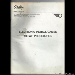 flipper bally electronic pinballgames re...